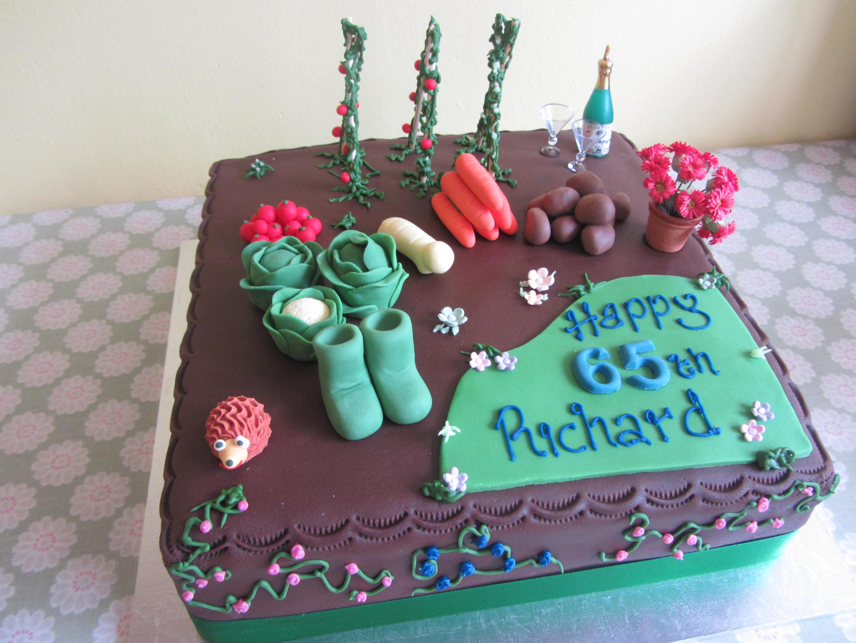 Vegetable Garden Cake | Delicious Dial A Cake