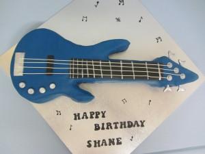 Blue Guitar Cake Delicious Dial A Cake